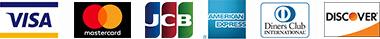 クレジットカード会社のロゴ